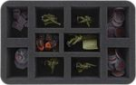 HS050KT10 50 mm foam tray for Kill Team - 10 compartments