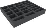 AVMEJE045BO foam tray for Scythe Legendary Box - 23 compartments
