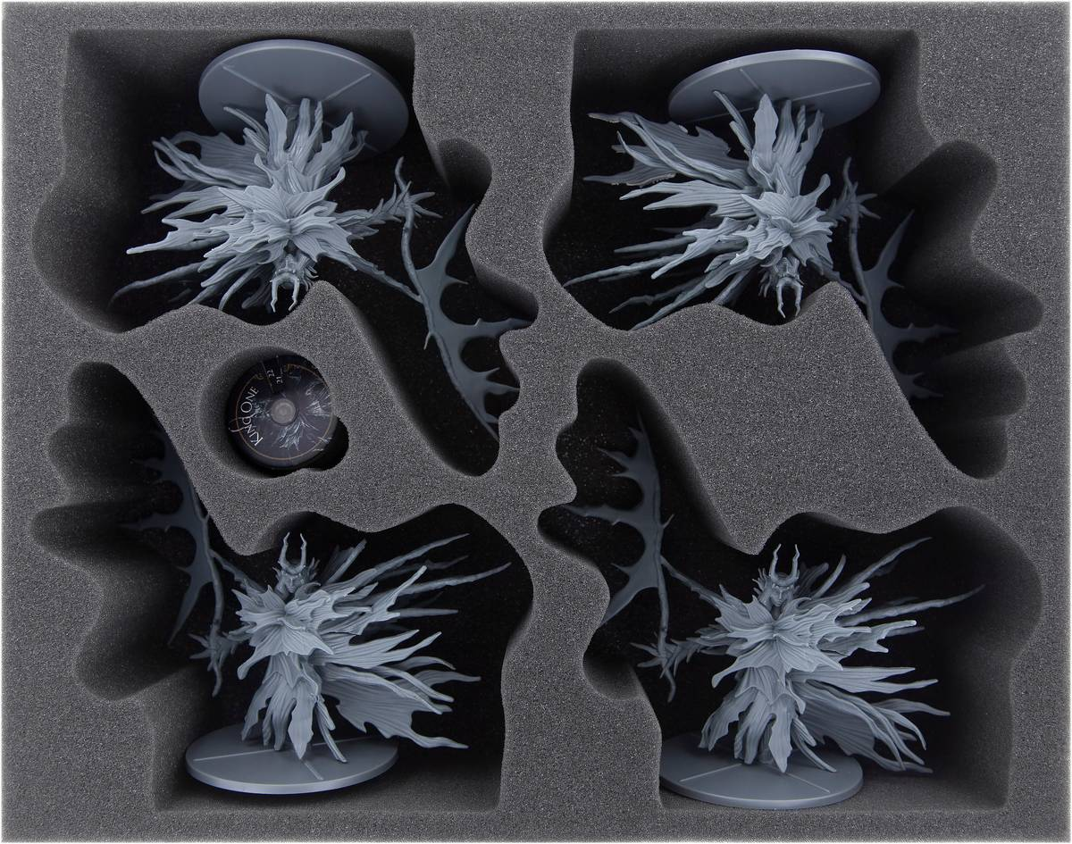 Feldherr foam tray set for Dark Souls: The Four Kings