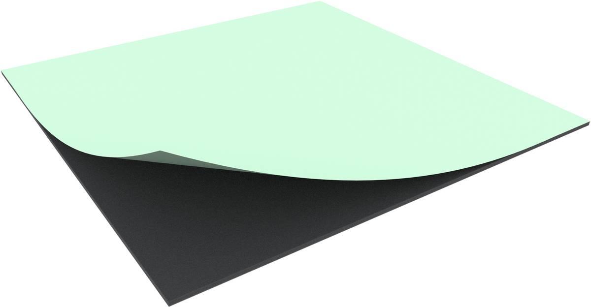 1000 mm x 1000 mm x 10 mm Schaumstoffzuschnitt / Schaumstoff Platte selbstklebend