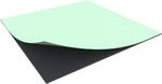 1000 mm x 1000 mm x 10 mm foam sheet self adhesive
