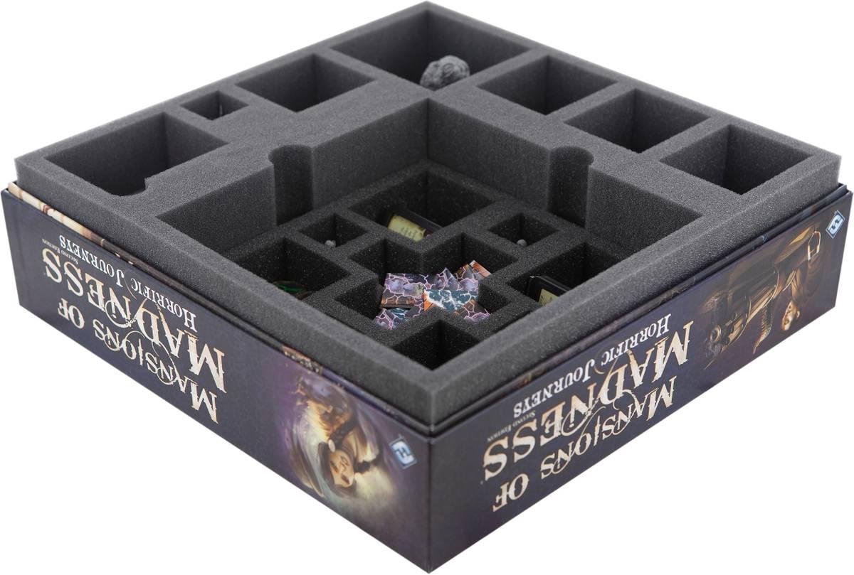 Feldherr Schaumstoff-Set für Villen des Wahnsinns 2. Edition: Grauenvolle Reisen Brettspielbox