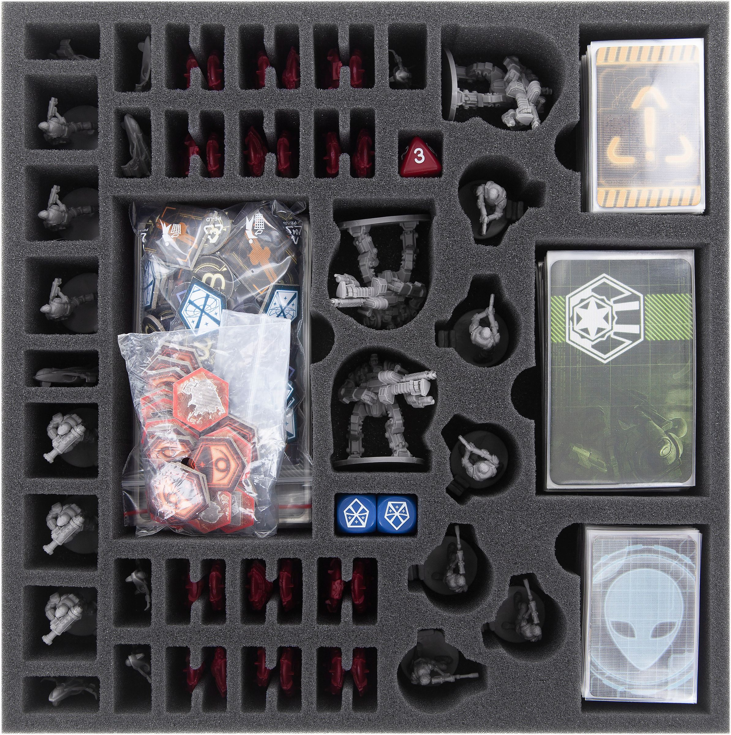Feldherr Foam Tray Set For Xcom The Board Game Box Ceres Webshop