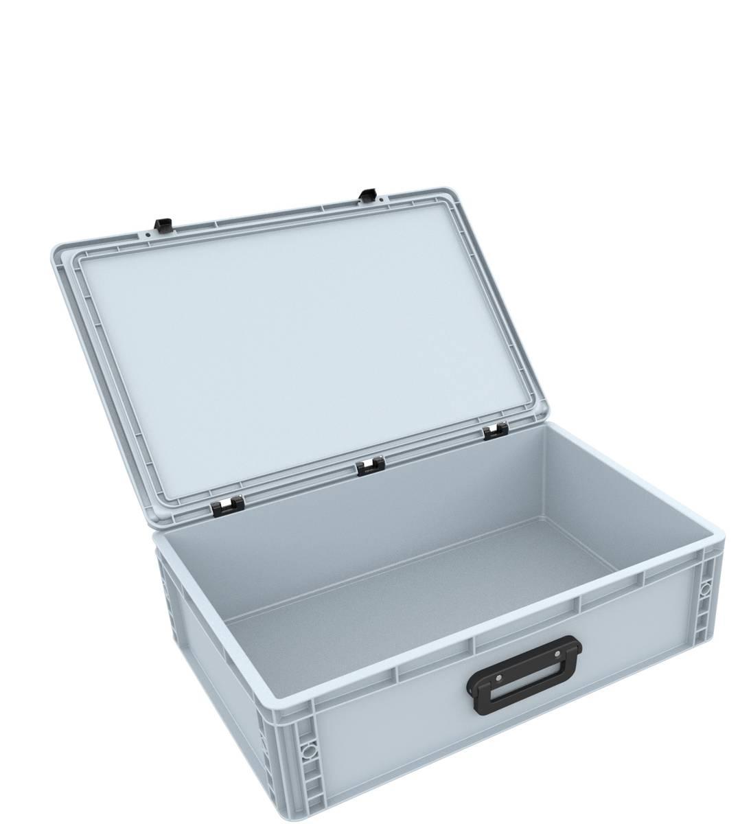 DSEB165G Eurobehälter Koffer mit Griff ED 64/17 1G