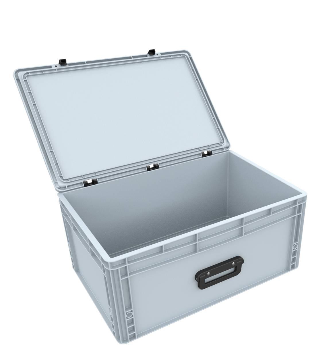 DSEB265G Eurobehälter Koffer mit Griff ED 64/27 1G