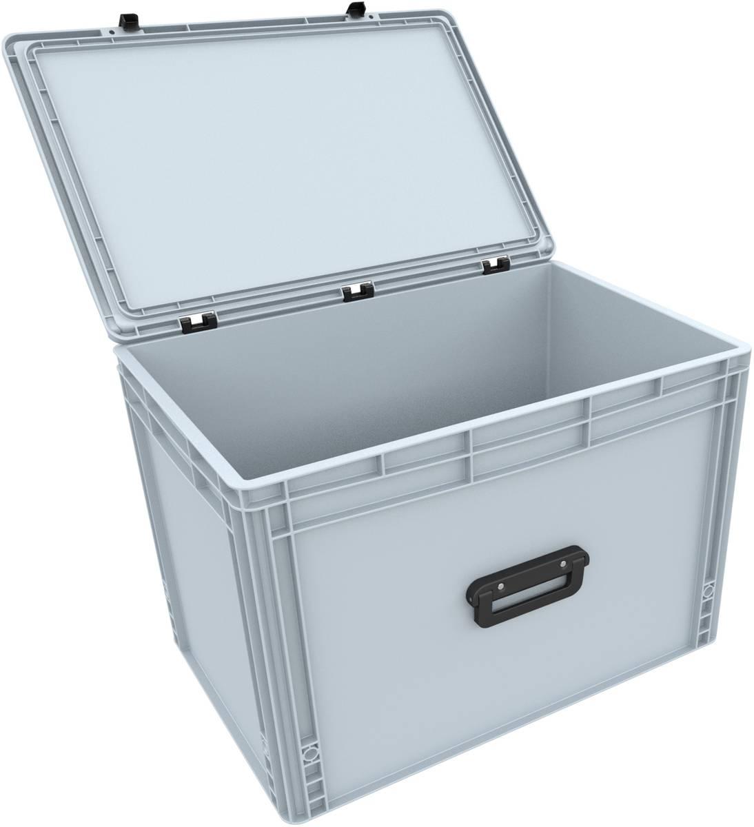 DSEB415G Eurobehälter Koffer mit Griff ED 64/42 1G