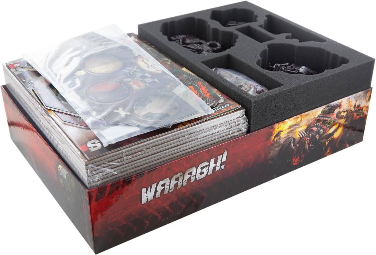 Feldherr Schaumstoff-Set für Speed Freeks Brettspielbox