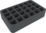 HS055WH47BO foam tray for Citadel paint pots (12 ml) - 24 compartments