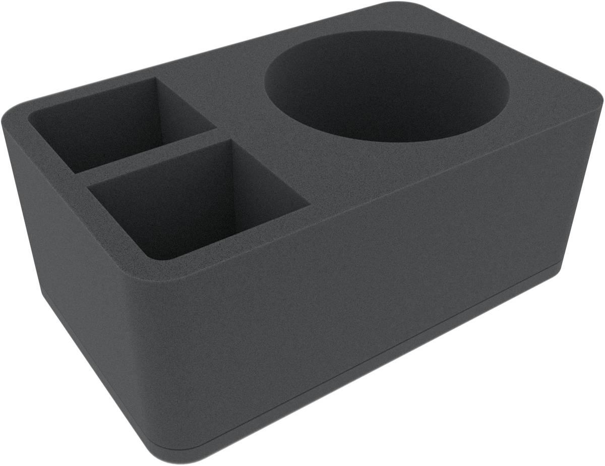 HSMEJW110BO 110 mm Half-Size Schaumstoffeinlage mit 3 Fächern