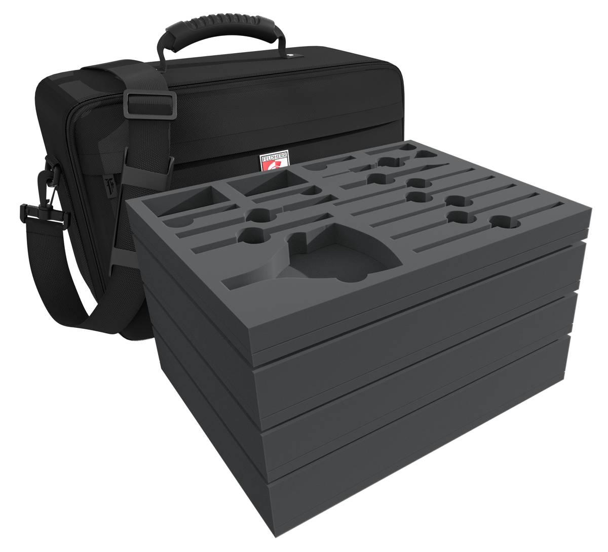 Feldherr MAXI Tasche für Citadel Werkzeug + Farbtöpfchen + Miniaturen
