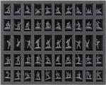 FS035BA03 Schaumstoffeinlage für Bolt Action – 50 Miniaturen