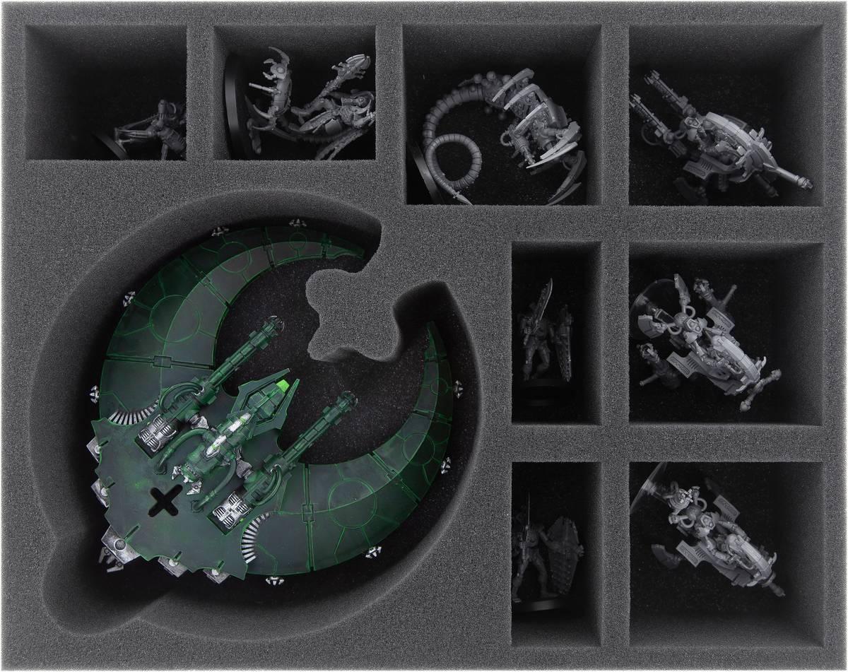FSMEJZ075BO Schaumstoffeinlage für Doom Scythe + 8 Fächer