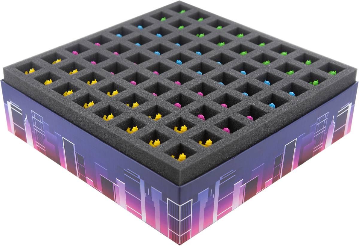 Feldherr Foam Set for Neon Gods – board game box