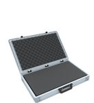 Eurobox Case with handle 600 x 400 x 90 mm inclusive pick and pluck foam