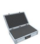 Eurobox Case with handle 600 x 400 x 135 mm inclusive pick and pluck foam