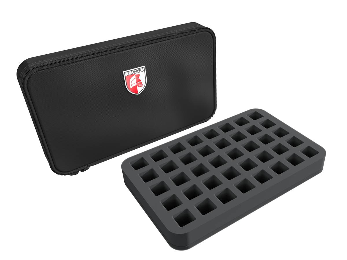 Feldherr MINI MINUS bag for role playing games – 40 dice