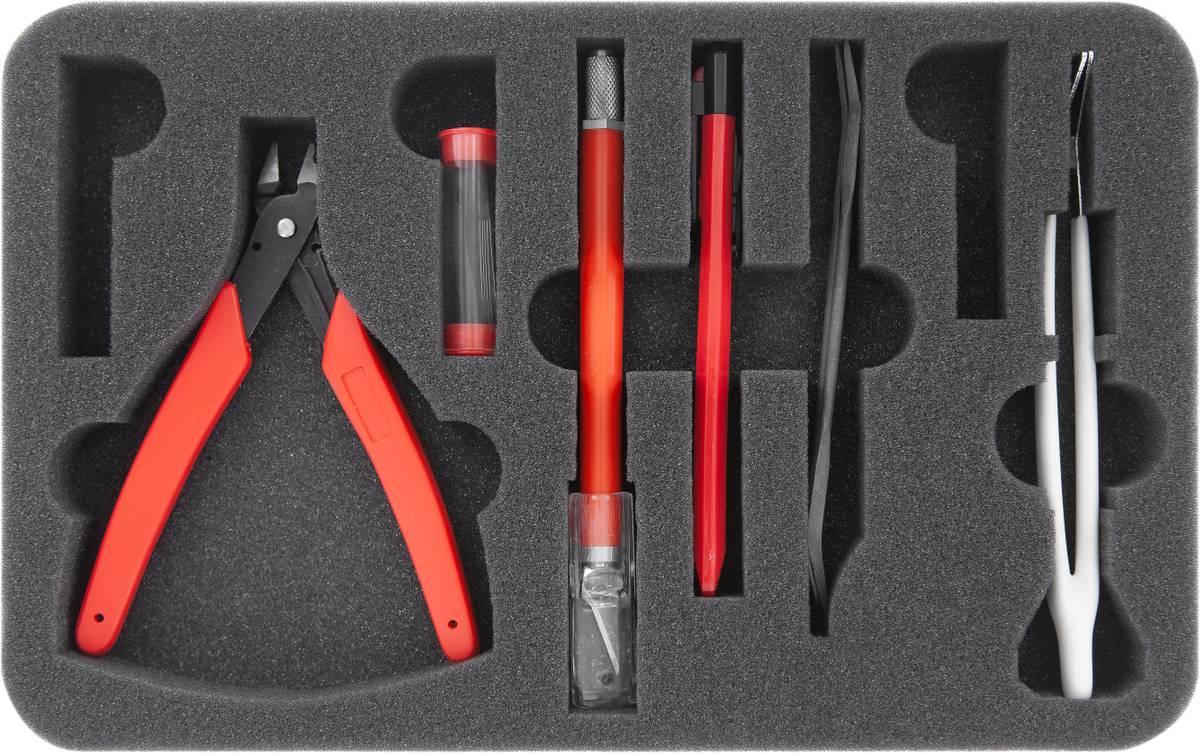 HS030A001 Schaumstoffeinlage für Bastel-Werkzeuge