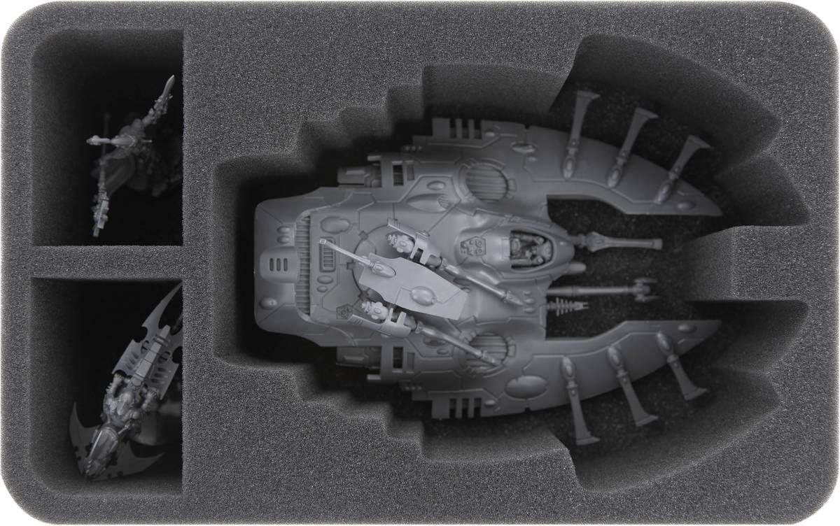 HSMEKV090BO Schaumstoffeinlage für Craftworlds: Wave Serpent / Falcon
