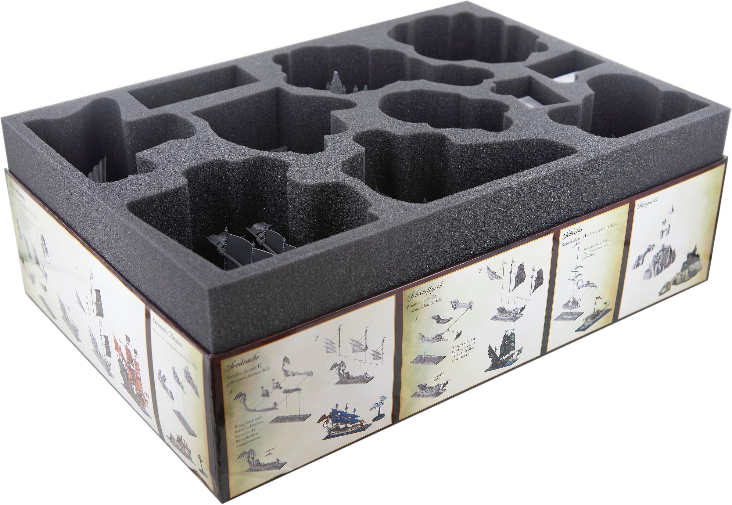 Feldherr foam tray set for Dreadfleet - board game box   Feldherr Worldwide