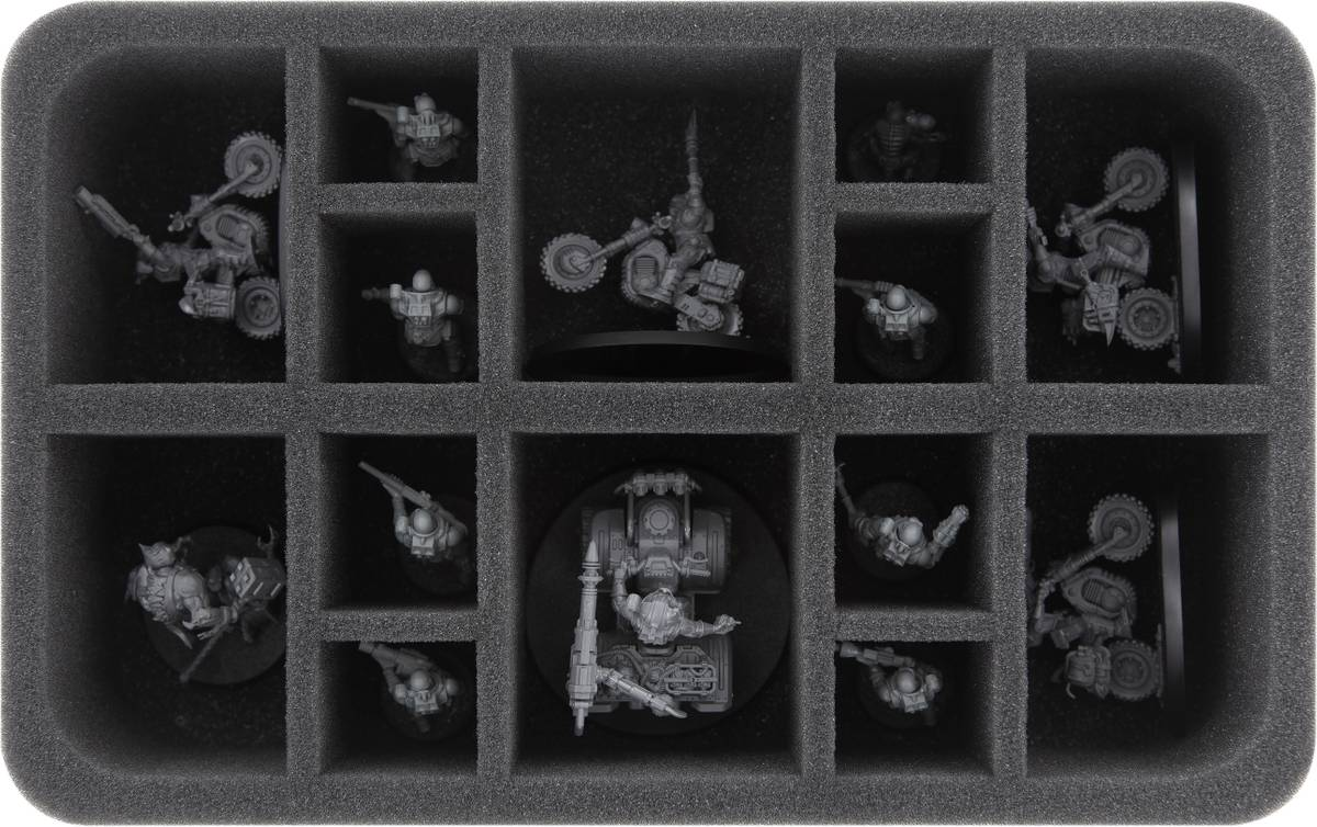 HS065A001 foam tray for Genestealer Cults - 14 compartments