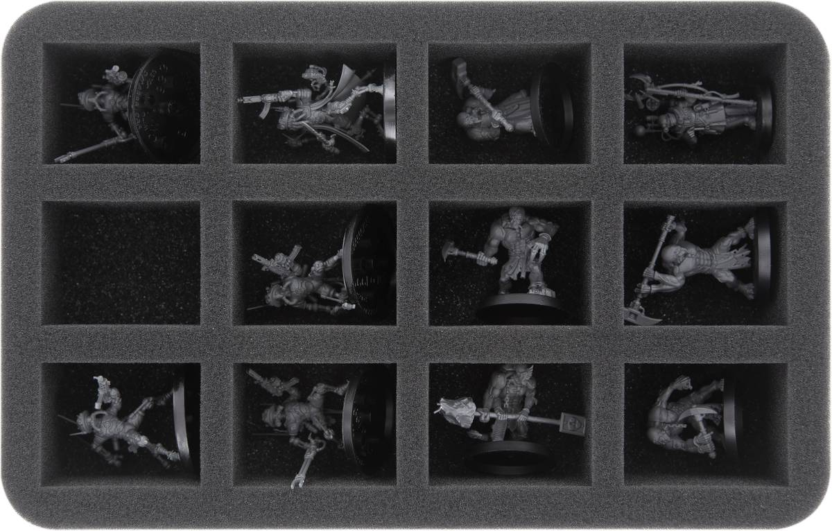 HS050A003 foam tray for Adeptus Mechanicus - 12 compartments