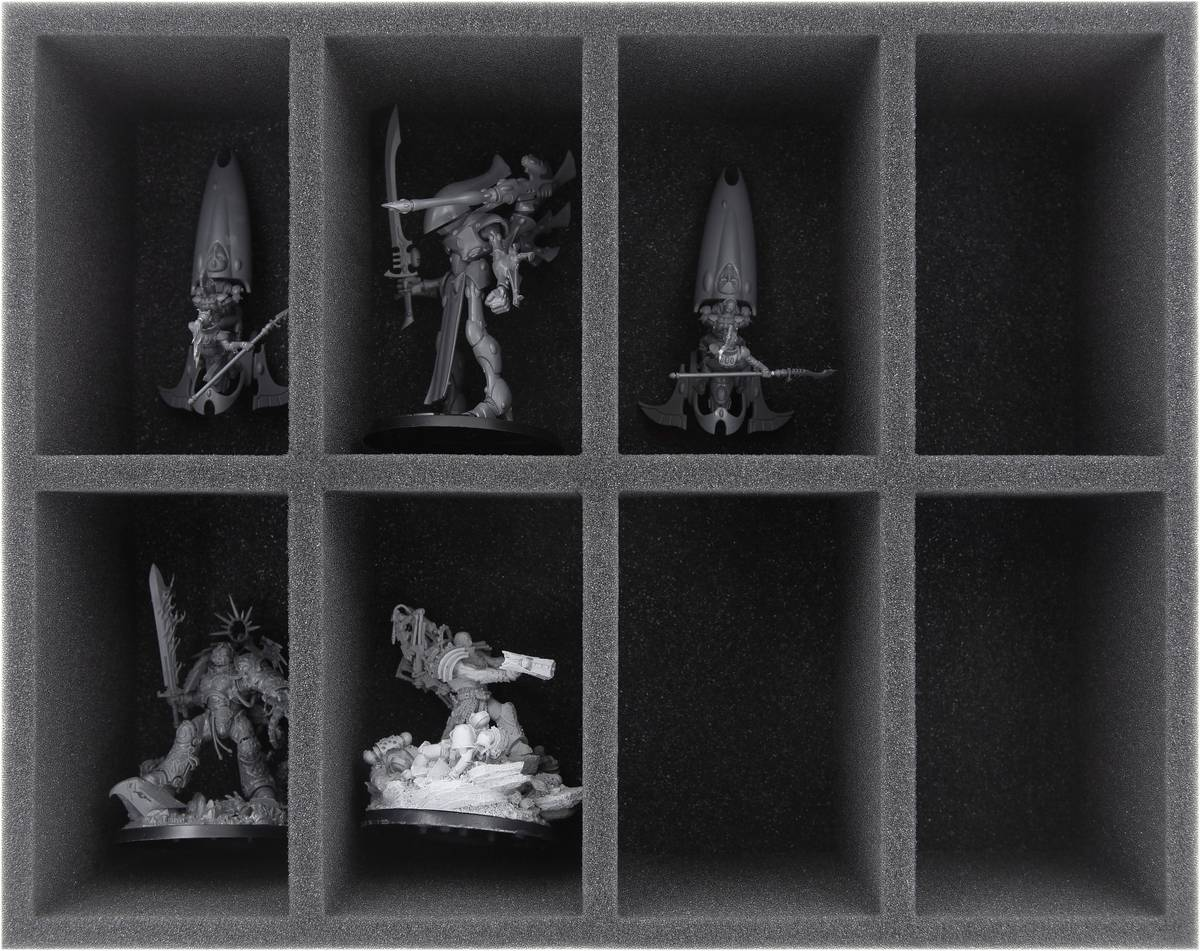 FS090A001 foam tray for Craftworlds - 8 compartments