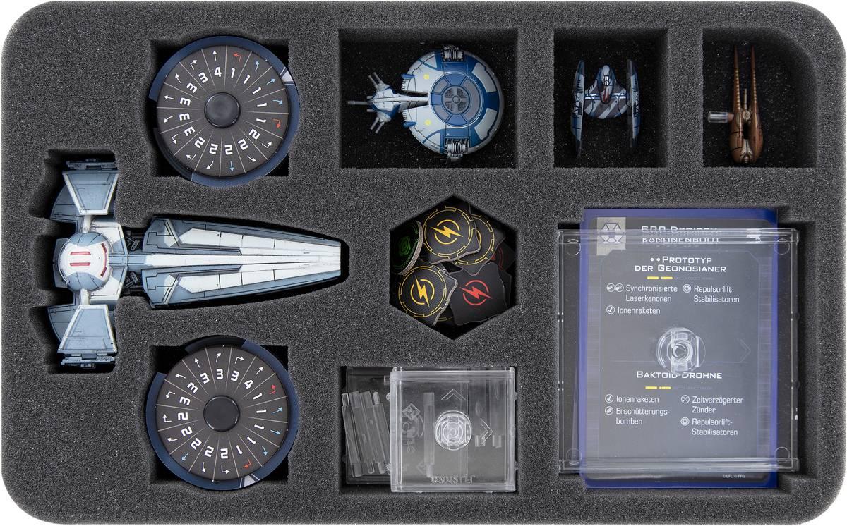 HSMEMD035BO Schaumstoffeinlage für Star Wars X-Wing: Sith-Infiltrator