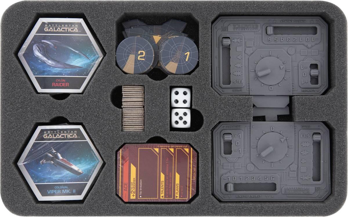 HSMEMC030BO Schaumstoffeinlage für Battlestar Galactica: Starship Battles