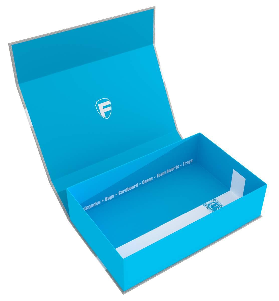 Feldherr Magnetbox blau für Subbuteo - 2 Tore