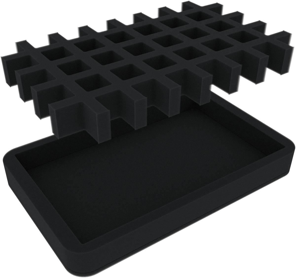 HSMEMN030BO Würfel-Tray + Insert für 40 Würfel