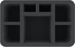 HS110A001 foam tray for Chaos Space Marines - Venomcrawler + 6 compartments
