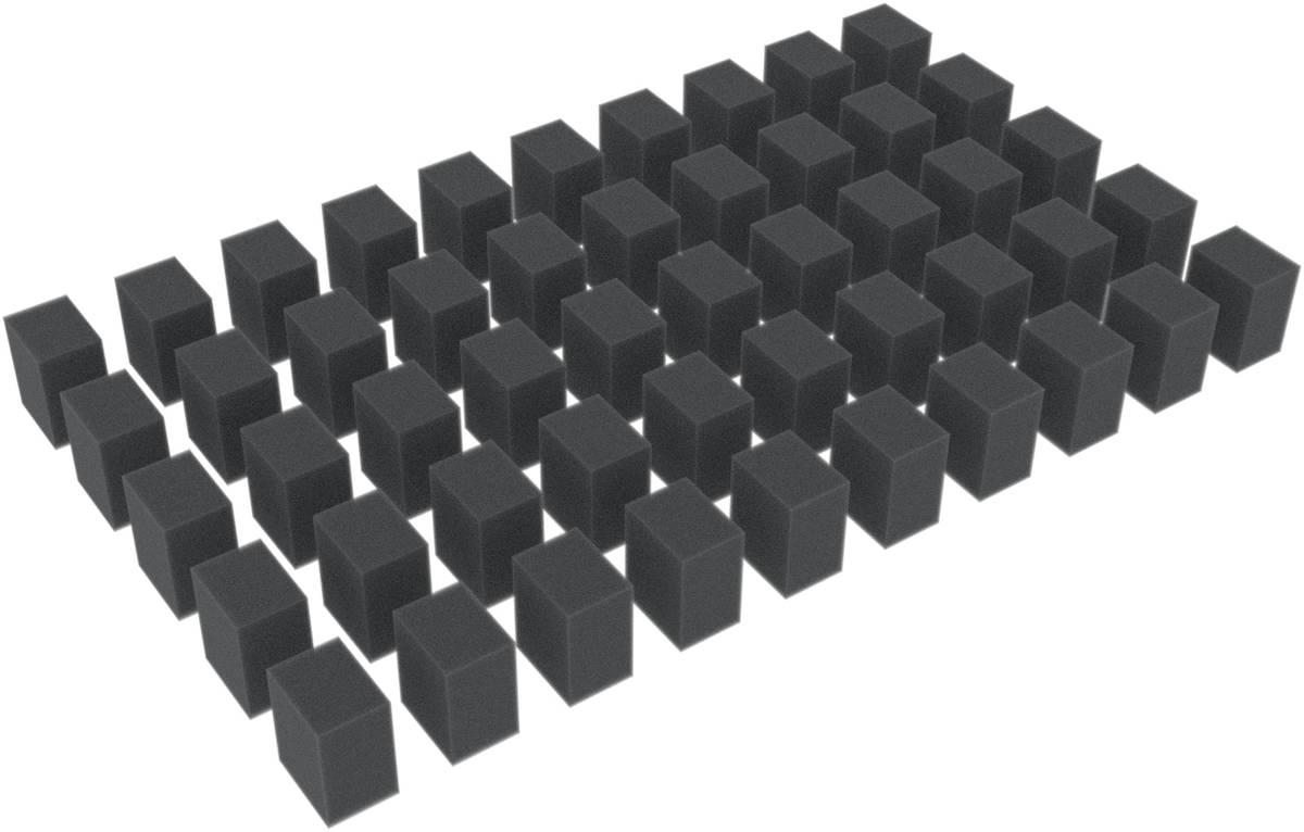 50 Distanzstücke / Schaumstoffquader / Schaumstoffblöcke 25 mm x 20 mm x 15 mm