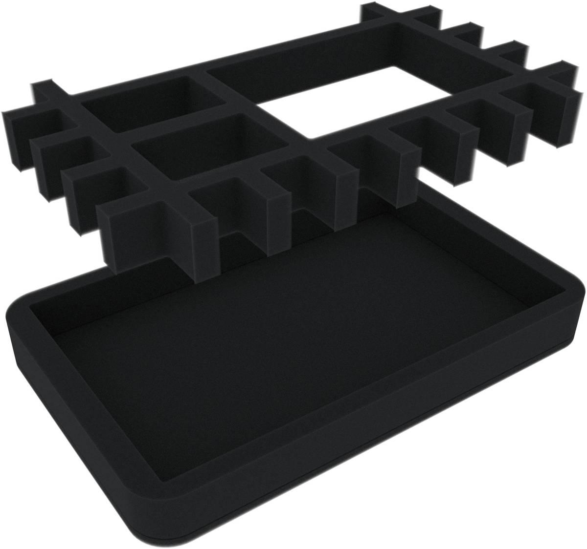 HSMEMO030BO Würfel-Tray + Insert für Pen & Paper Rollenspiele