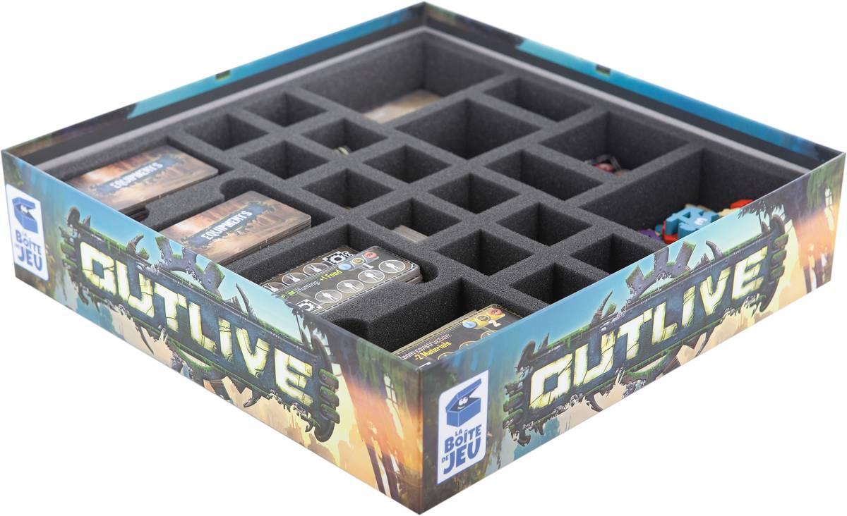 Feldherr Schaumstoff-Set für Outlive - Brettspielbox