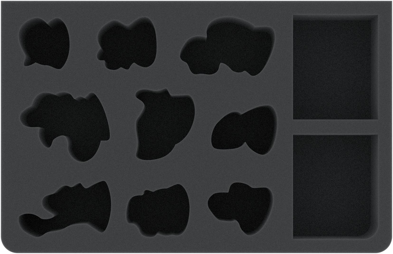 CQMEIK050BO Feldherr GWA-Size foam tray for Nightvault - Zarbag's Gitz
