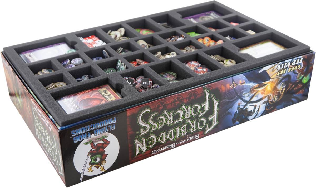 Feldherr Schaumstoff-Set für Shadows of Brimstone: Forbidden Fortress - Brettspielbox