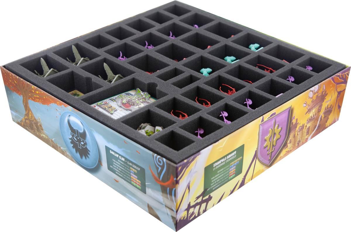 Feldherr Schaumstoff-Set für Clash of Rage: Grundspiel - Brettspielbox