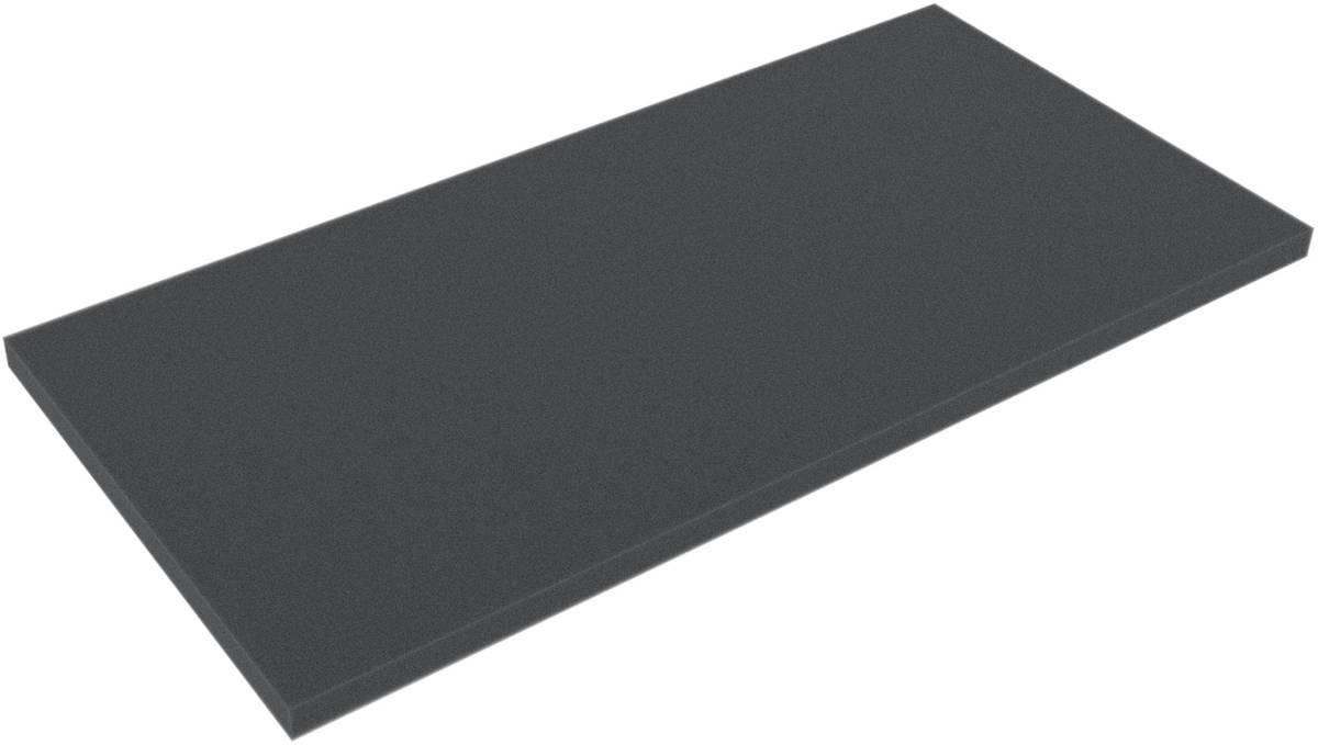 DBBA004 326 mm x 158 mm x 4 mm Schaumstoffboden / Schaumstoffzuschnitt