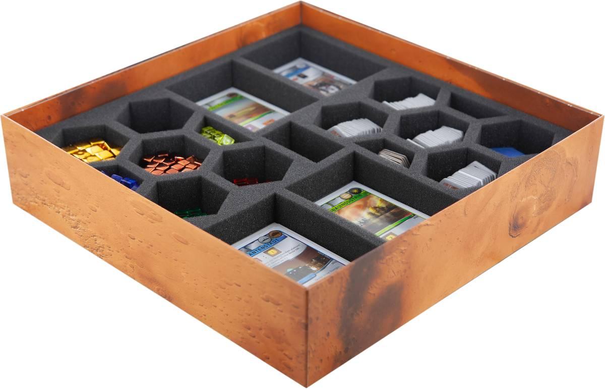 Feldherr Schaumstoff-Set für Terraforming Mars - Brettspielbox