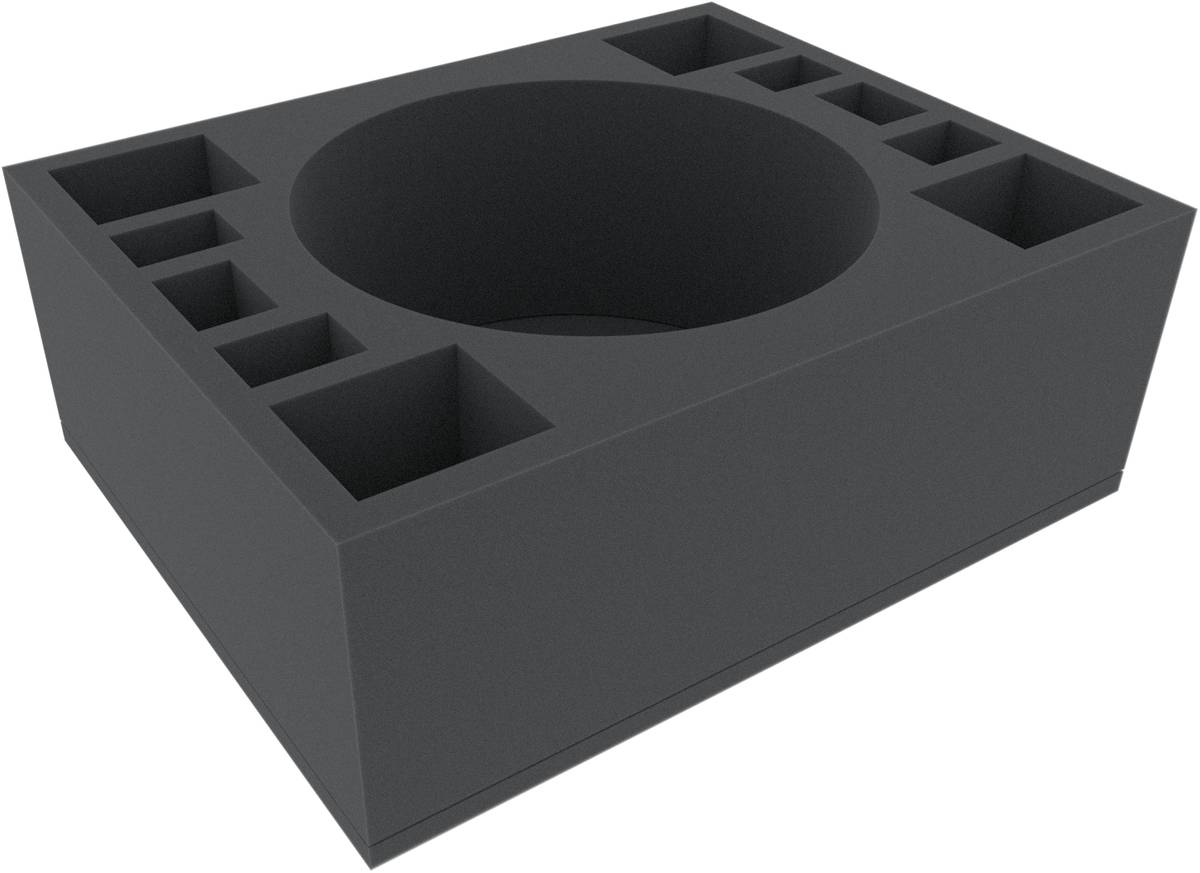 FSMEOT125BO 125 mm Full-Size Schaumstoffeinlage mit 11 Fächern