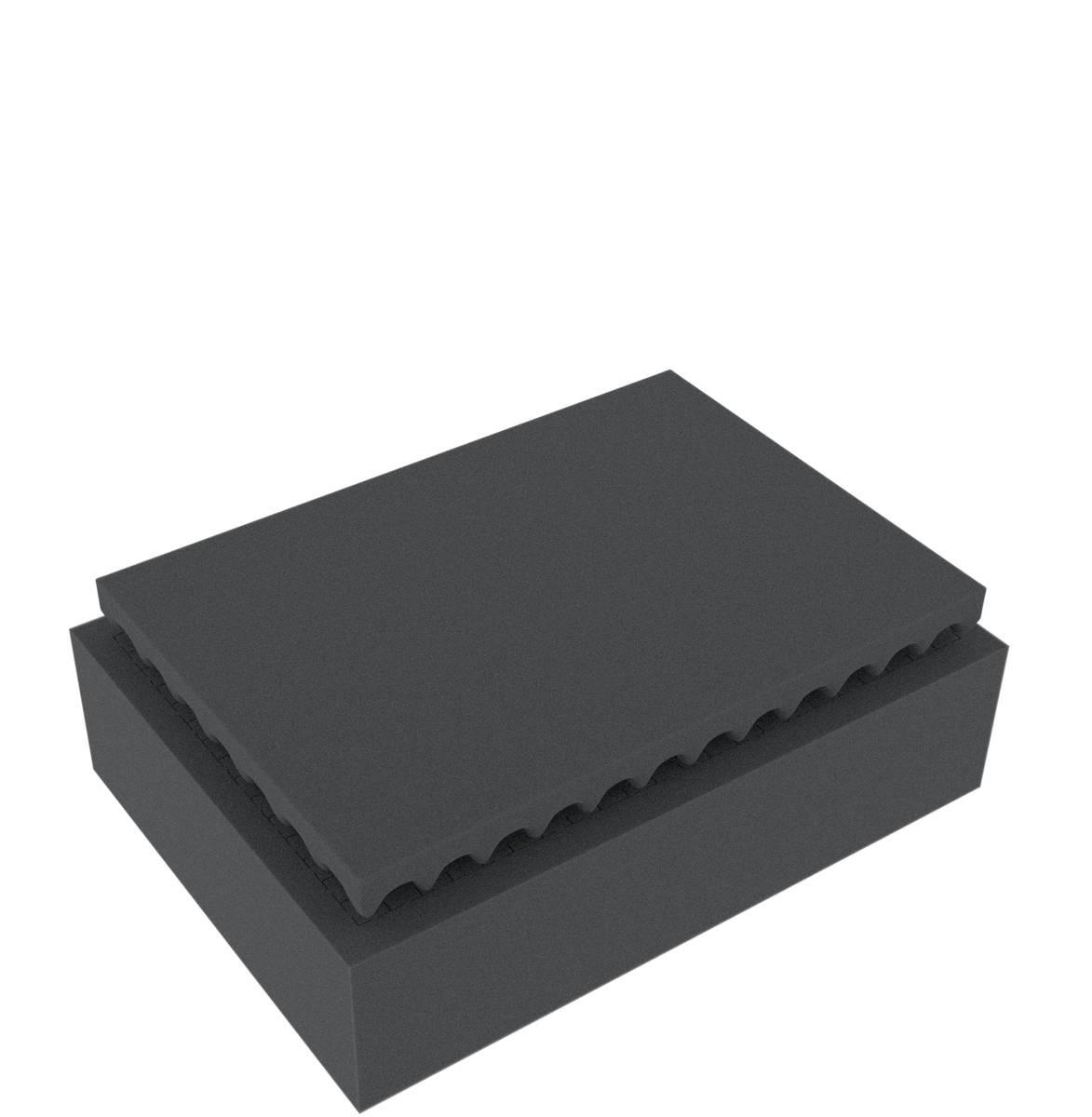 Feldherr Rasterschaumstoff für Auer Packaging Eurobehälter / Euro Box mit Scharnierdeckel / Koffer ED 43/12