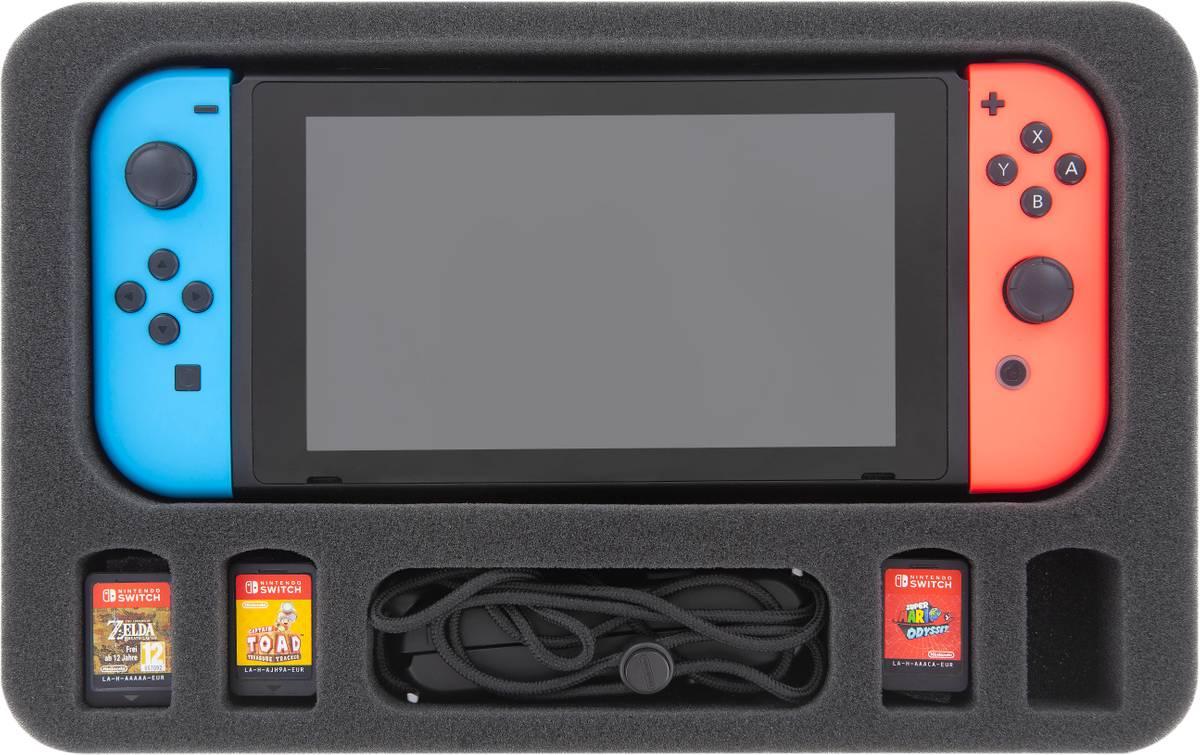 Feldherr Schaumstoffeinlage für Nintendo Switch (zusammengesetzt)