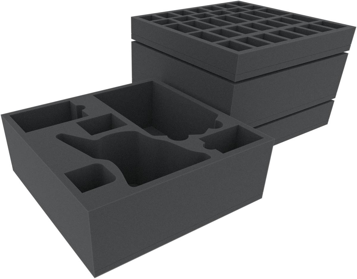 Black Rose Wars - Custom foam trays, boxes, bags and cases for
