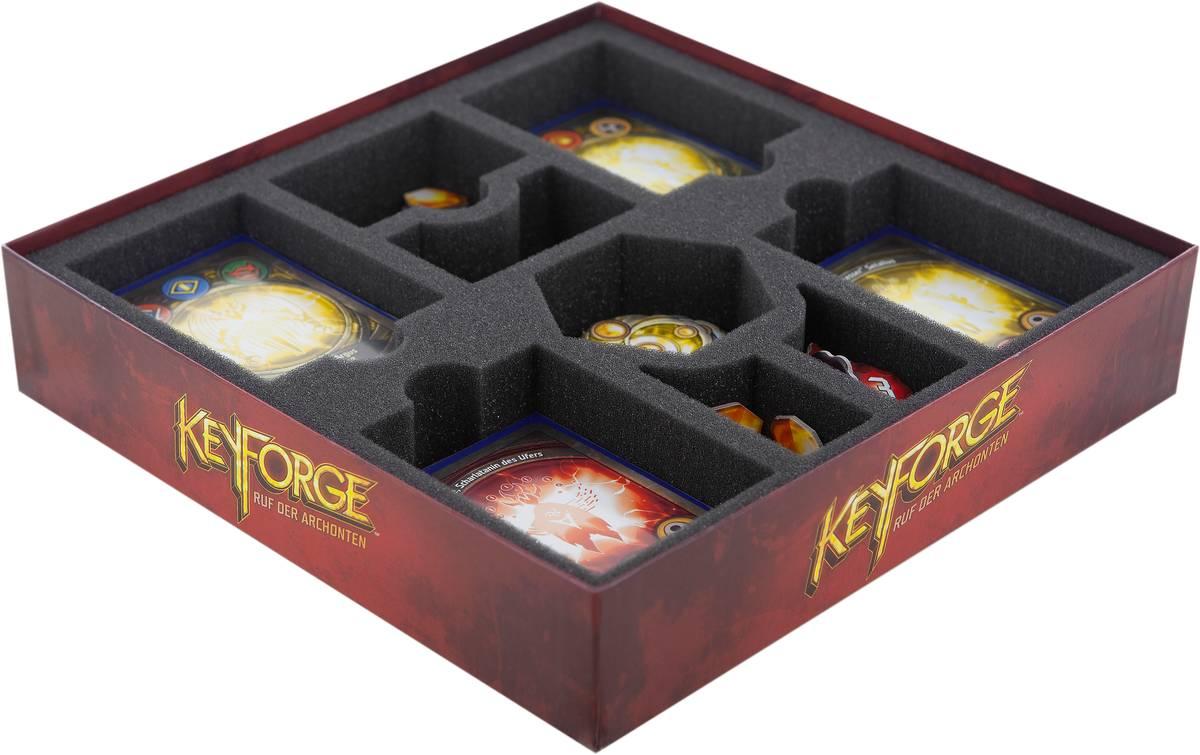 Feldherr Schaumstoff-Set für KeyForge: Ruf der Archonten - Starterbox