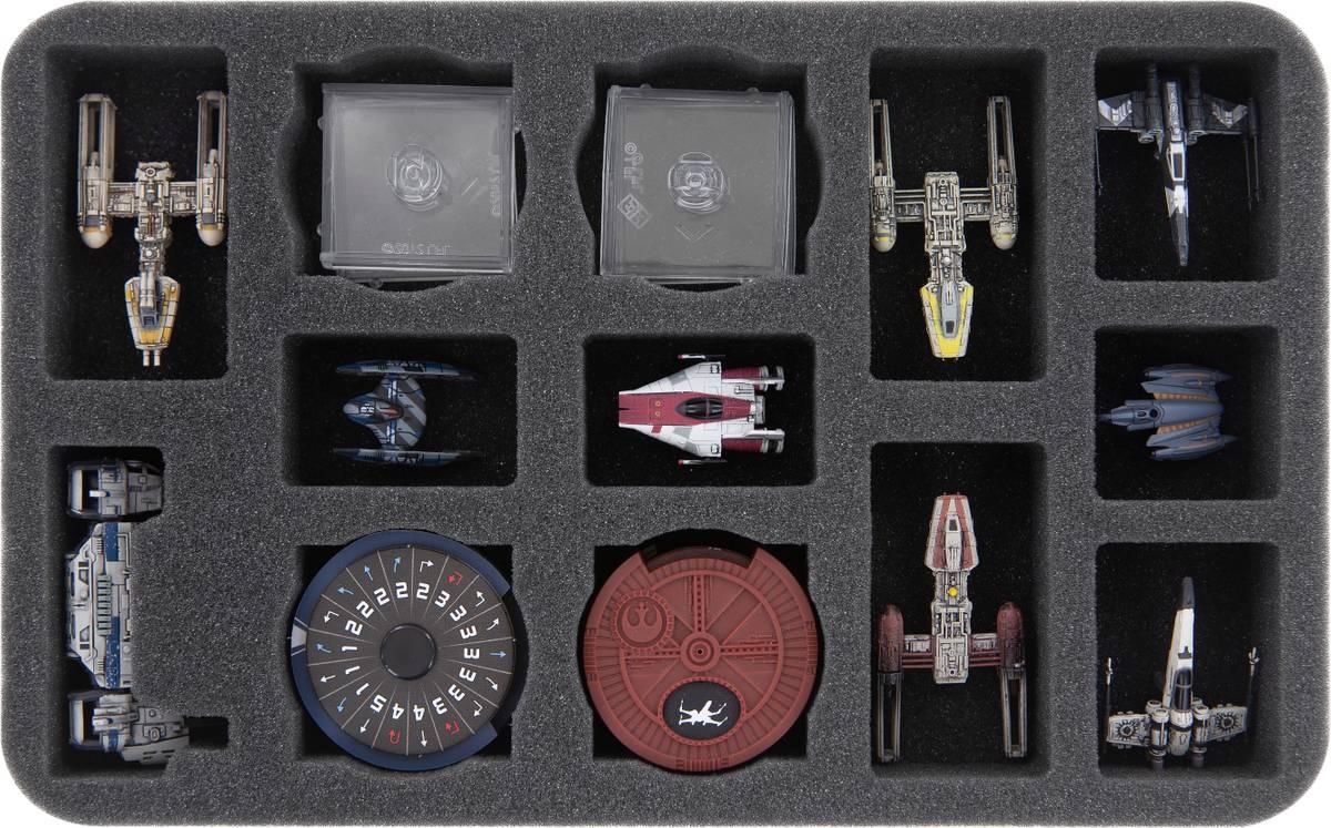 HSMEPY035BO Feldherr Schaumstoffeinlage für Star Wars X-Wing: Transporter des Widerstands