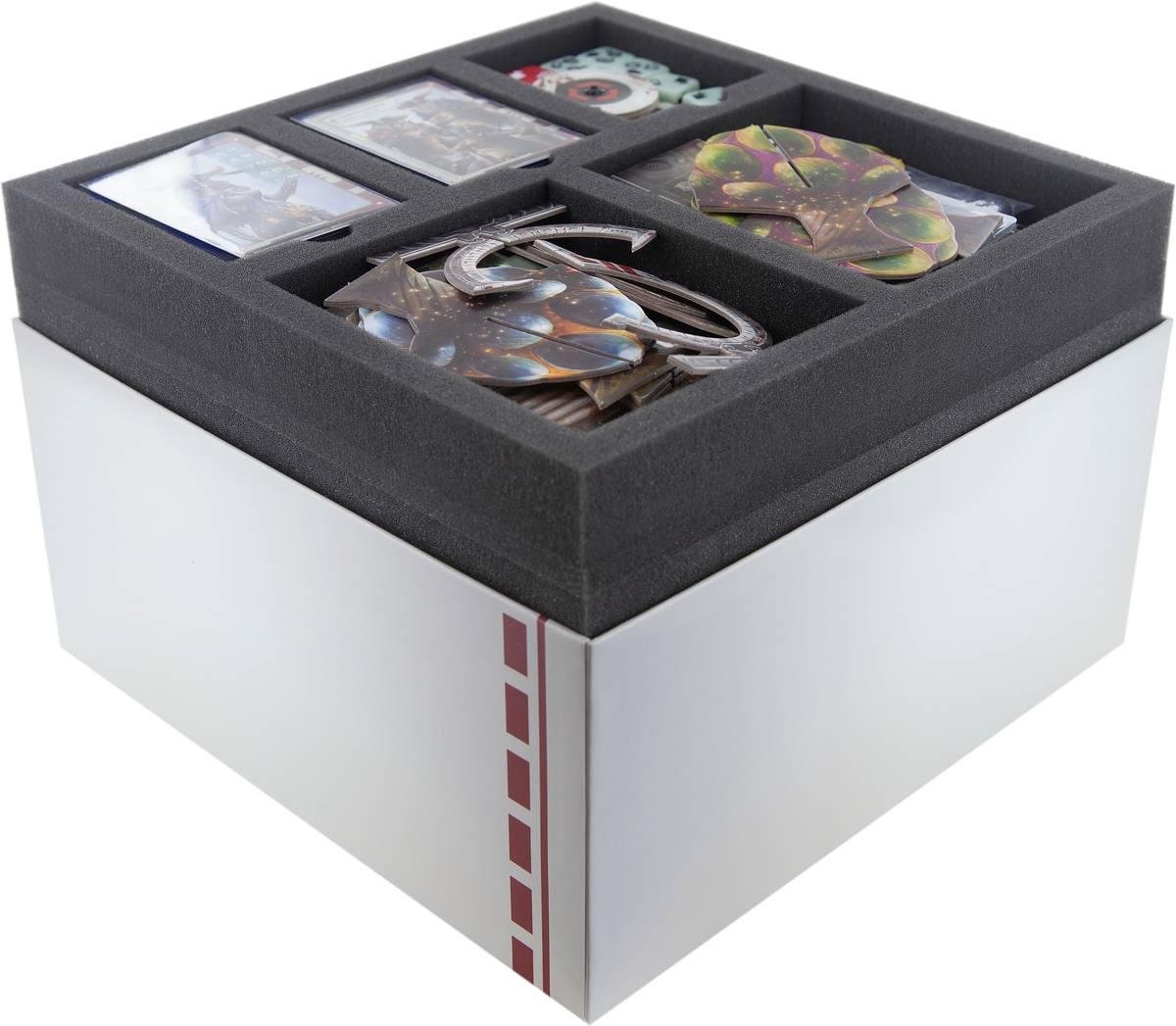 Feldherr Schaumstoff-Set für Sine Tempore: Grundspiel – Brettspielbox