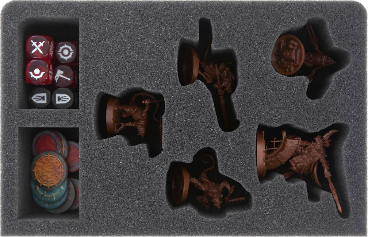 CQMEKY050BO Feldherr GWA-Size Schaumstoffeinlage für Shadespire - Zwistklaues Schwarm