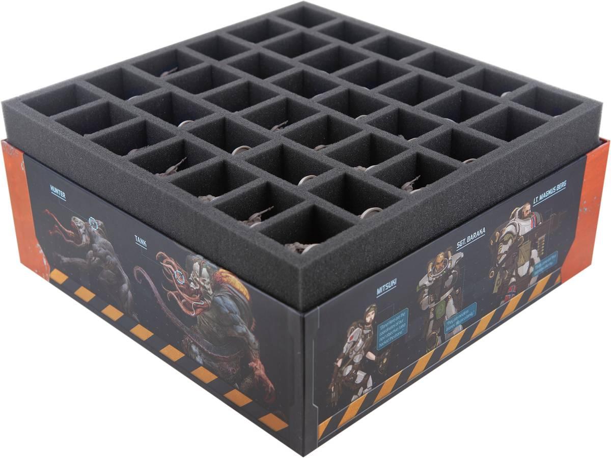 Feldherr Schaumstoff-Set für Zombicide: Invader - Brettspielbox