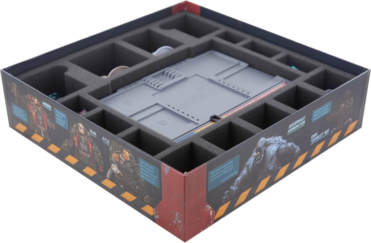 Feldherr Schaumstoff-Set für Zombicide: Black Ops - Brettspielbox