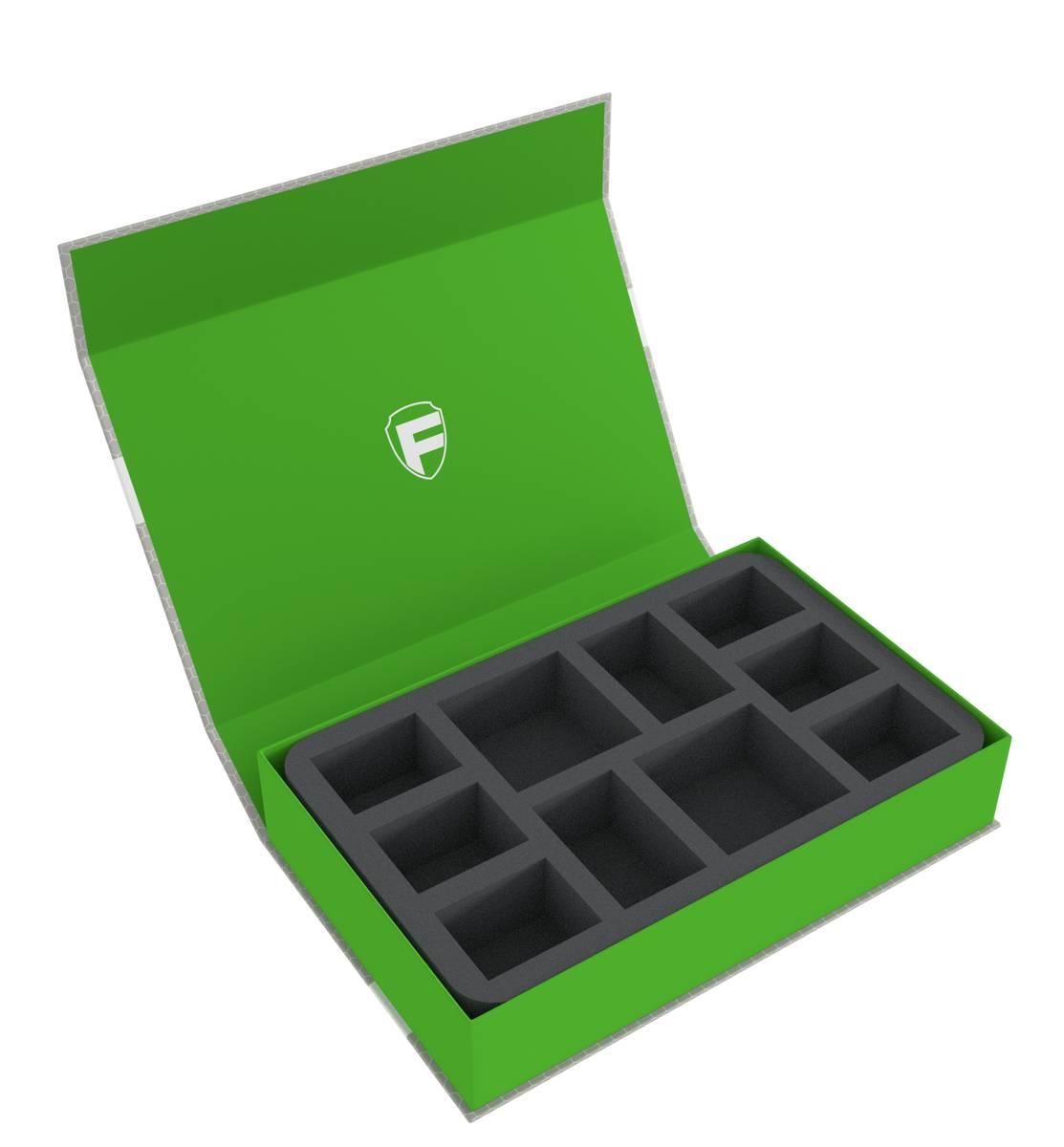 Feldherr Magnetbox grün für Warcry: Cypher Lords